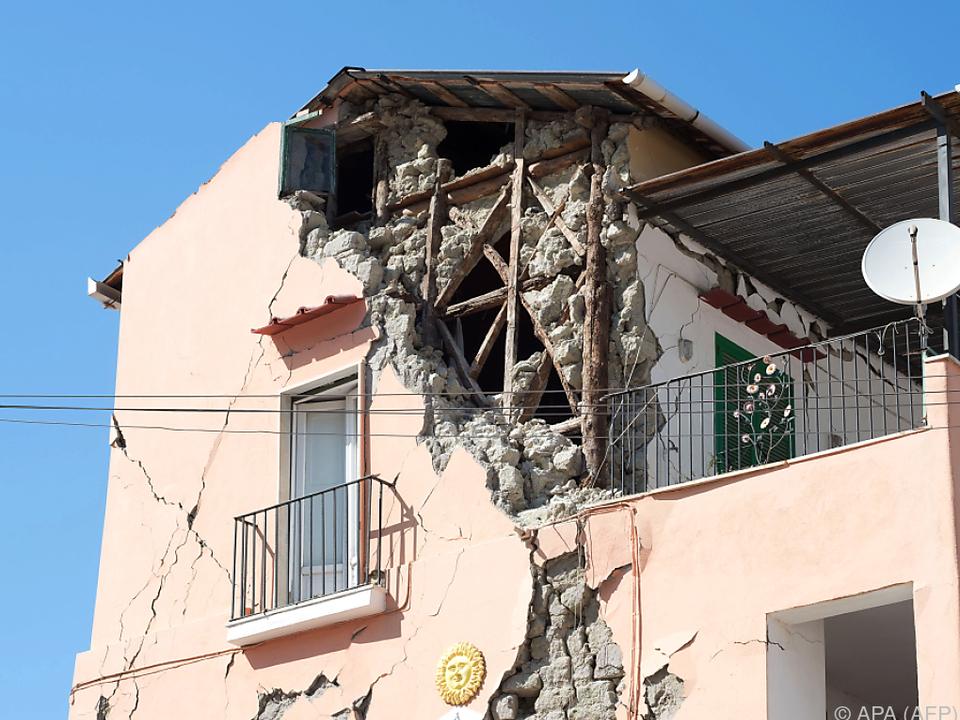 Viele Gebäude waren nicht erdbebensicher gebaut