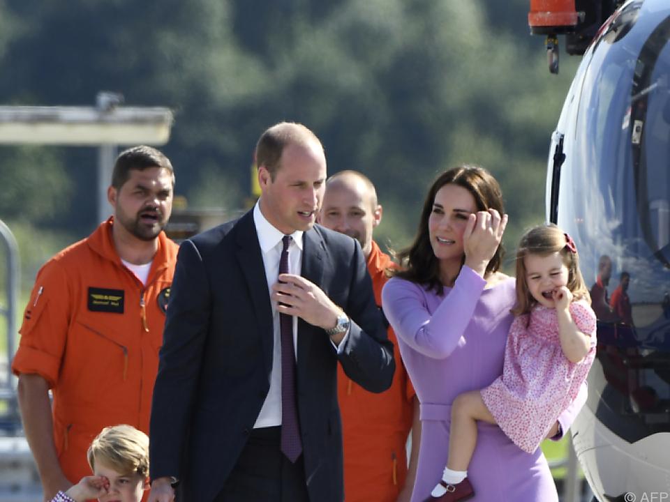 Vor allem William, Kate und ihre Kinder lassen sich gut verkaufen