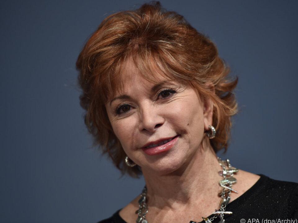 Vor zwei Jahren trennte sich Allende von ihrem zweiten Mann