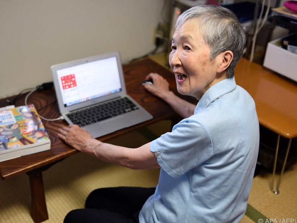 Wakamiya entwickelte Spiele-App für Senioren