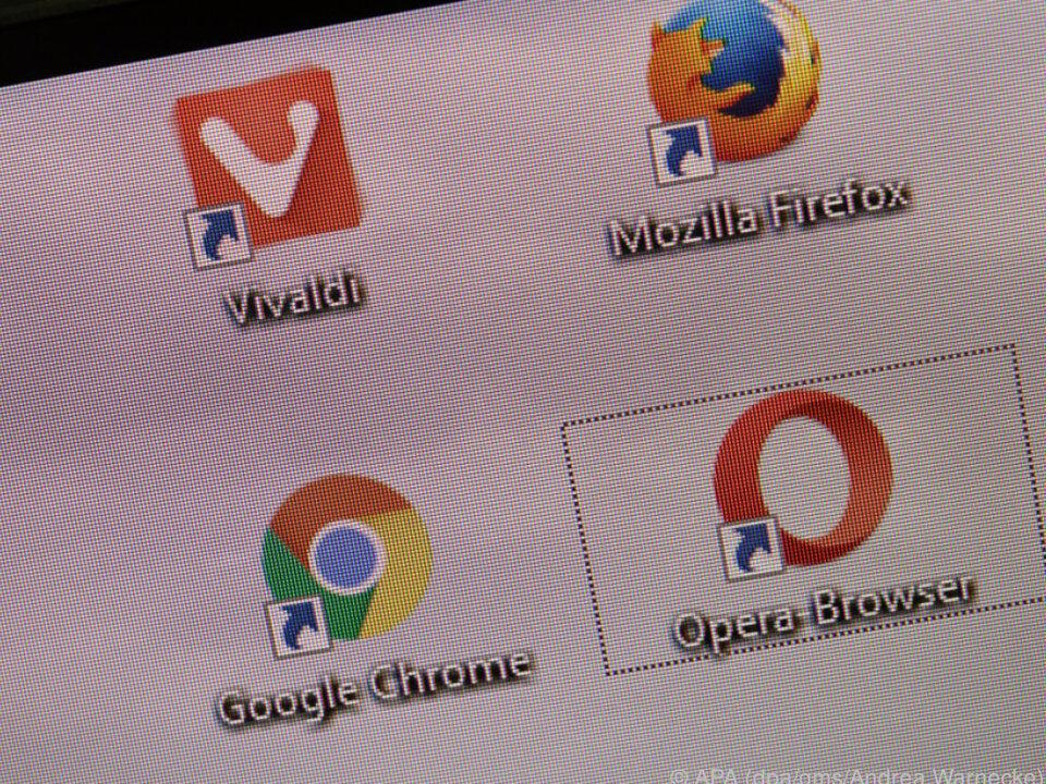 Wer ins Netz will, kann das mit vielen verschiedenen Browsern tun