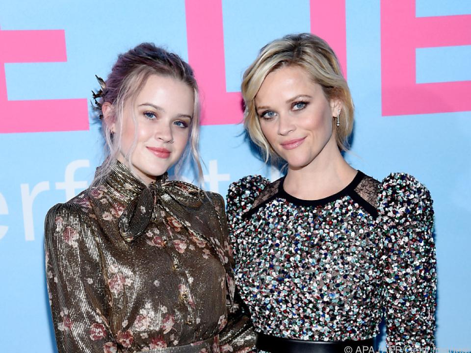 Witherspoon (r.) mit ihrer Tochter Ava