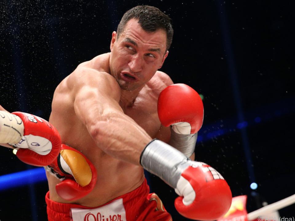 Wladimir Klitschko hängt die Boxhandschuhe mit 41 an den Nagel