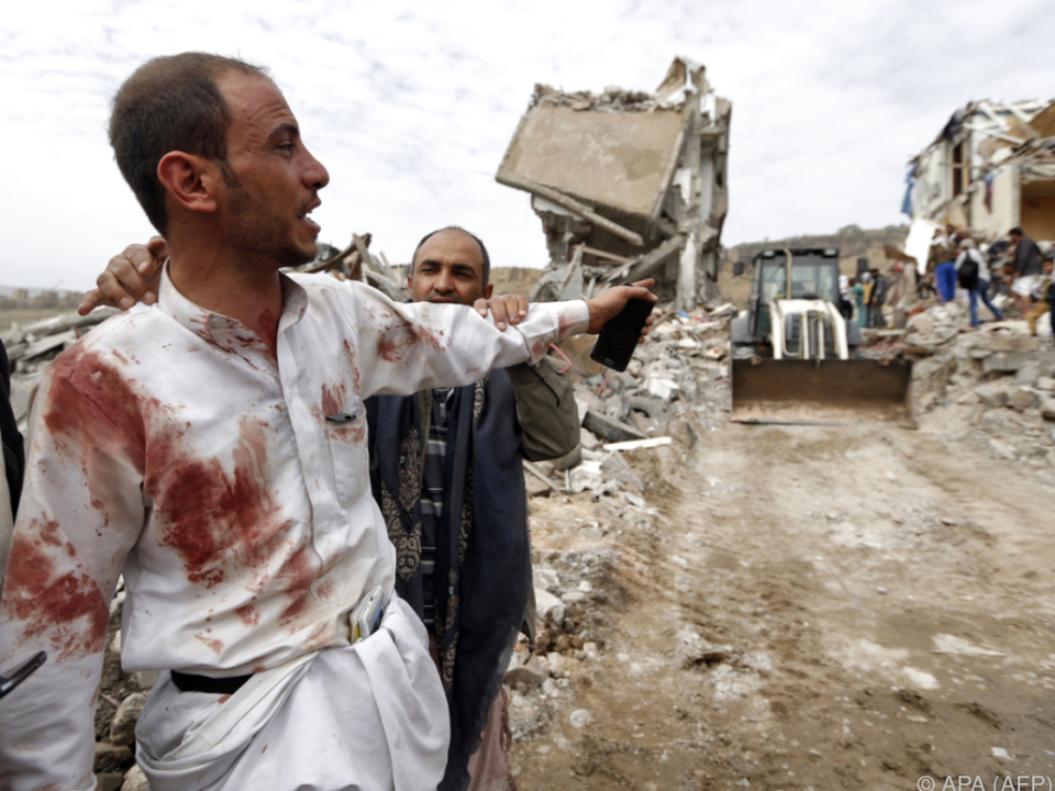 Zwei Häuser stürzten ein, neben den Toten gab es auch einige Verletzte