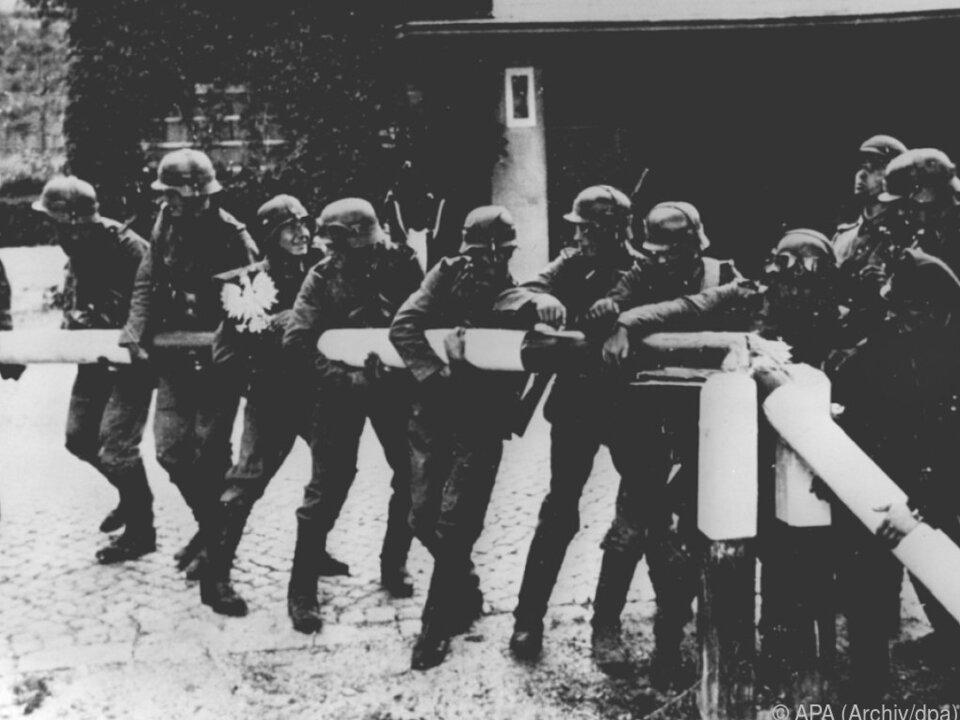 1939 marschierte Deutschland in Polen ein