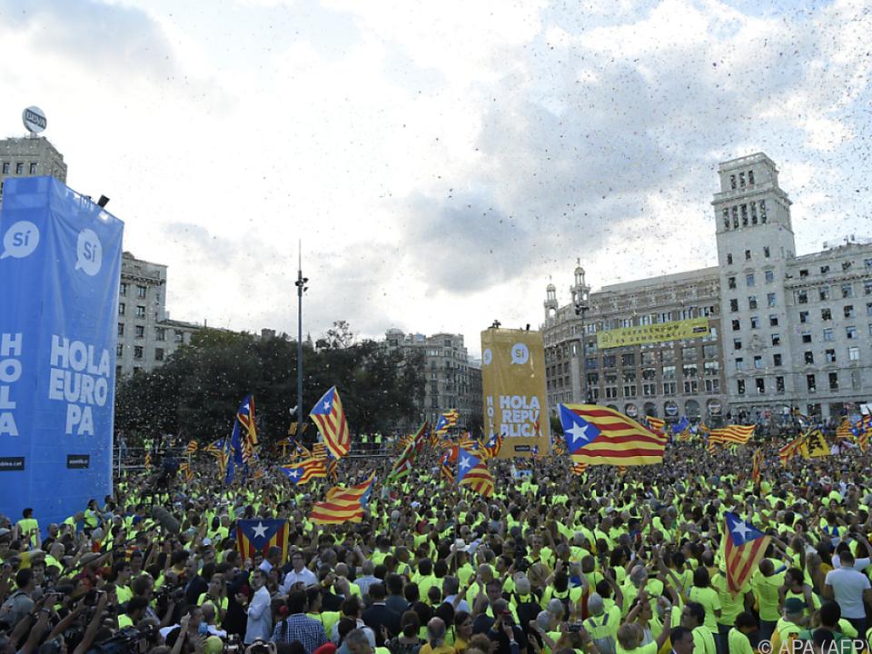 400.000 Menschen meldeten sich zur Demonstration an