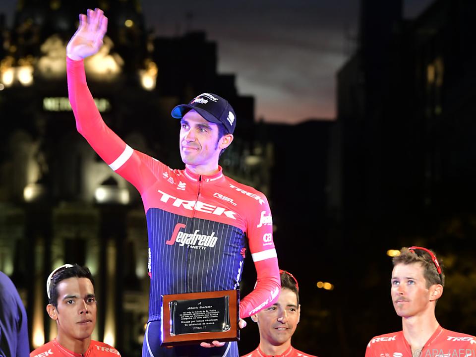 Alberto Contador beteuert weiter seine Unschuld