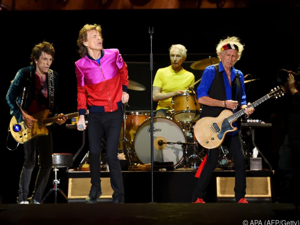 Am Samstag starten die Stones ihre Europa-Tournee in Hamburg
