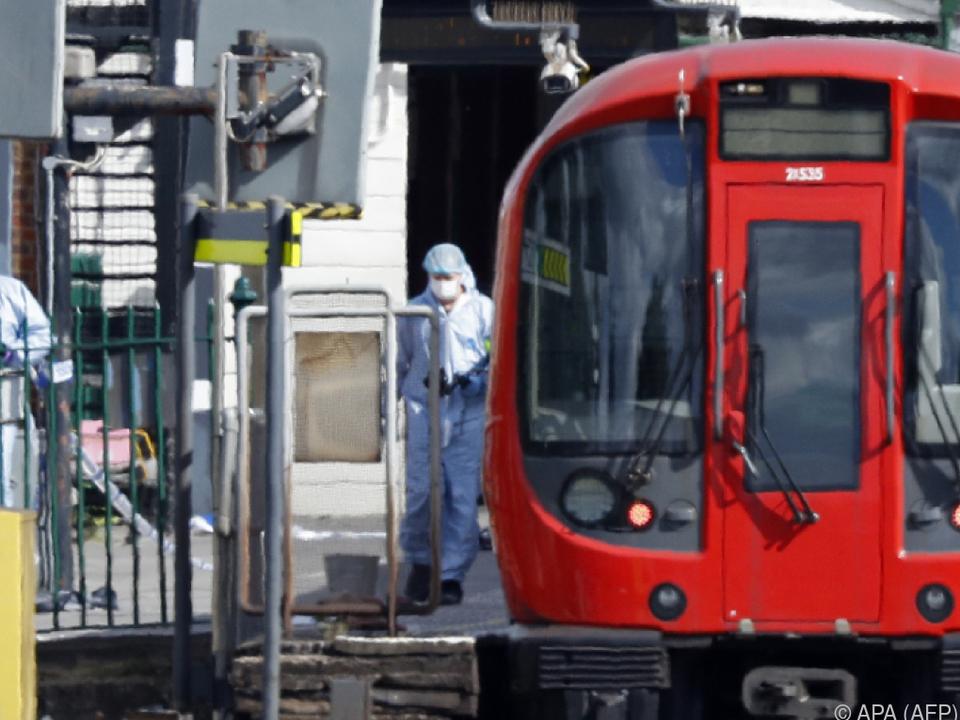 Anschlag mit selbst gebastelter Bombe in London