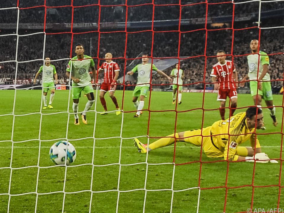 Arjen Robben erzielte das zweite Tor für die Bayern