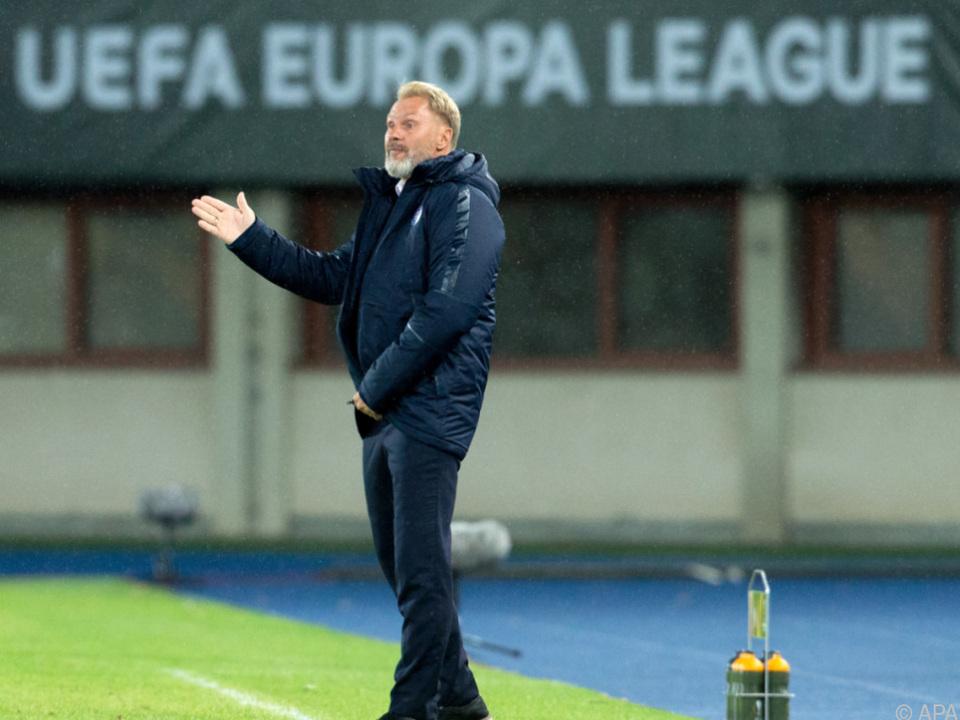 Austria-Trainer Thorsten Fink gibt sich optimistisch