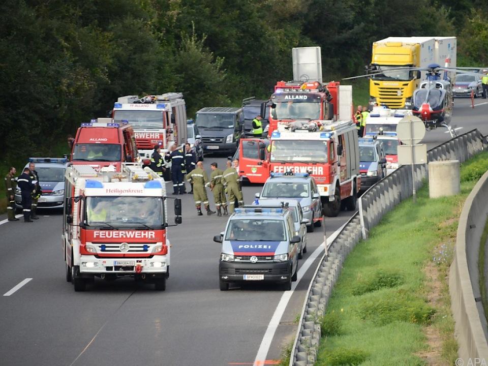 Autobahn musste gesperrt werden