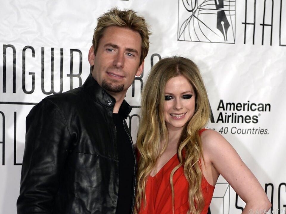 Avril Lavigne versteht sich noch gut mit ihrem Ex-Mann