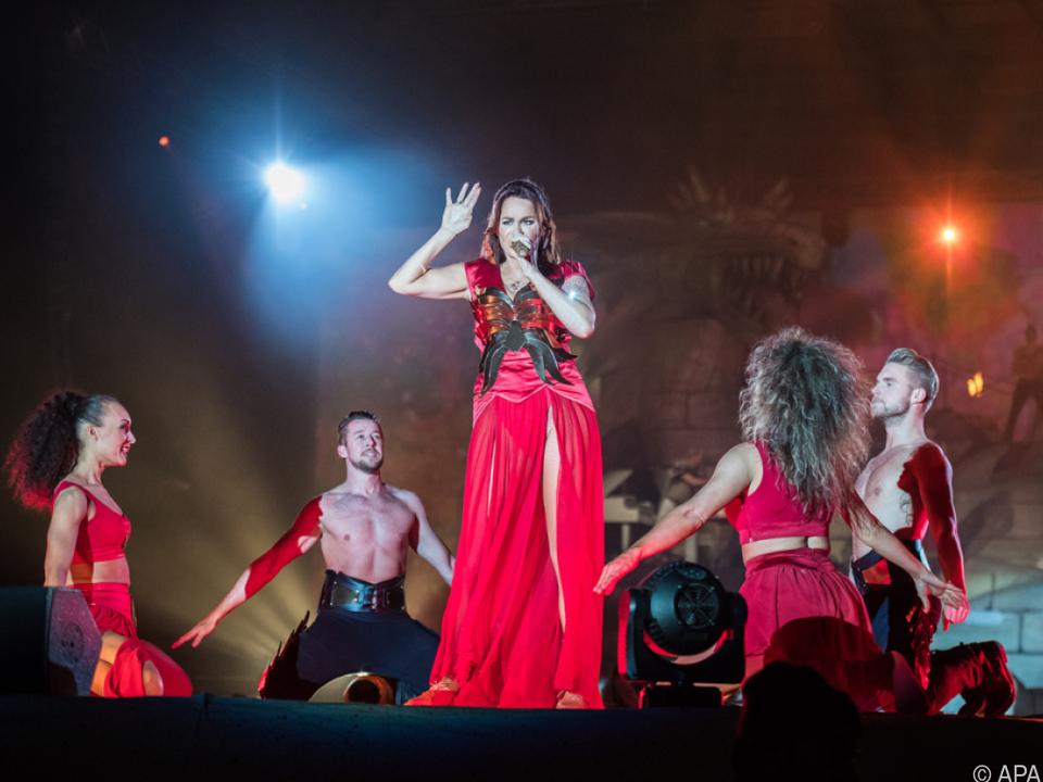 Berg singt für Fans von Liebe, Lebensfreude und Lust