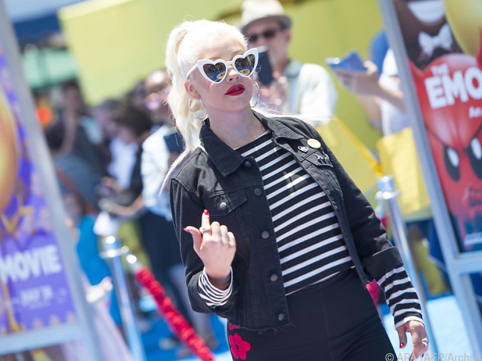 Christina Aguilera hatte das Nachsehen