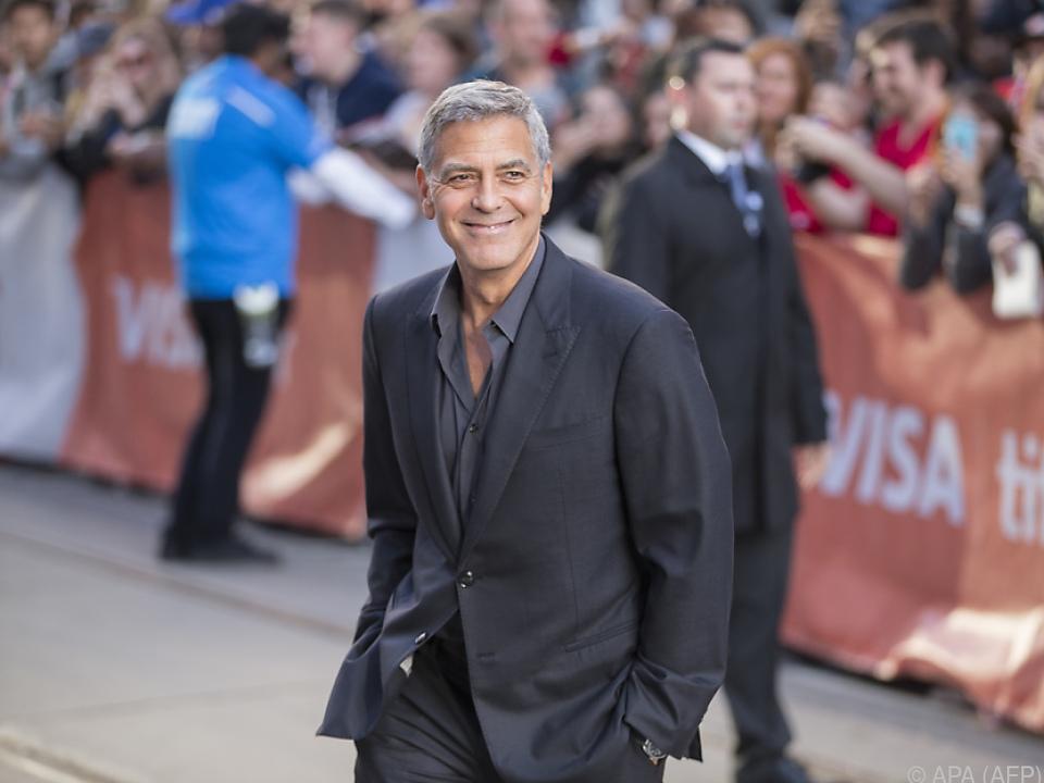 Clooney führte bei \