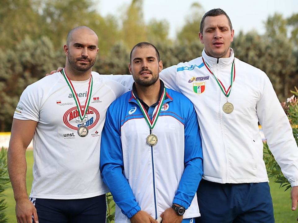 Campionati Italiani di Società Assoluti,Finale Oro