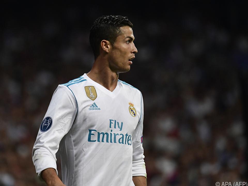 Cristiano Ronaldo hat große Chancen auf die Trophäe