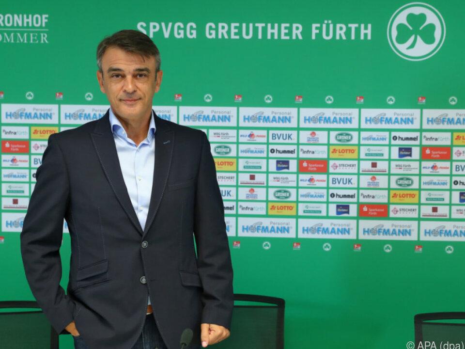 Damir Buric bei seinem neuen Arbeitgeber vorgestellt