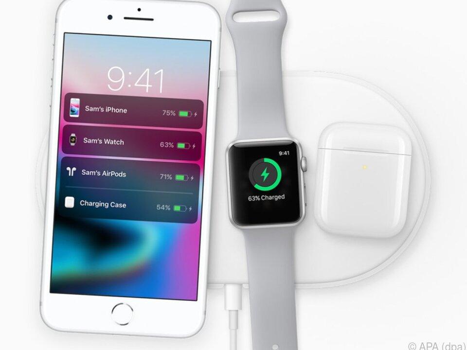 Erstmals bietet Apple die Möglichkeit zum drahtlosen Aufladen an