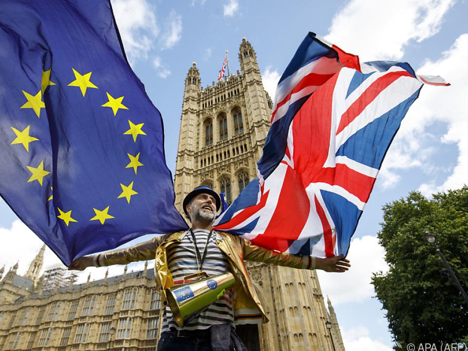 Das Thema Brexit ist auch in Großbritannien selbst kontrovers