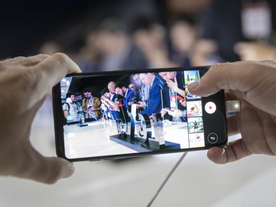 Das V30 von LG setzt auf umfangreiche Videofunktionen