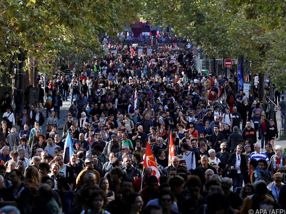 Neue Proteste gegen Macron in Frankreich