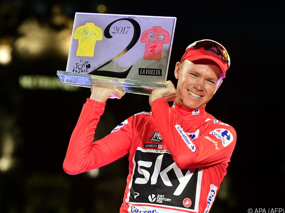 Froome gelang Double Tour/Vuelta, Denifl bester Österreicher
