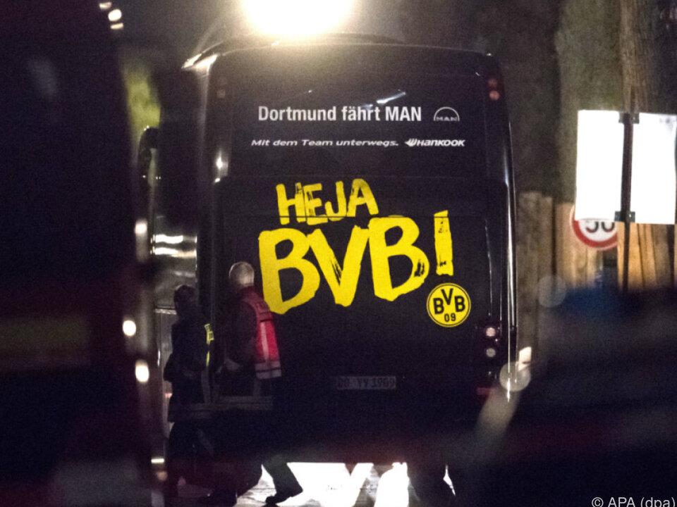 Der BVB-Bus war das Anschlagsziel