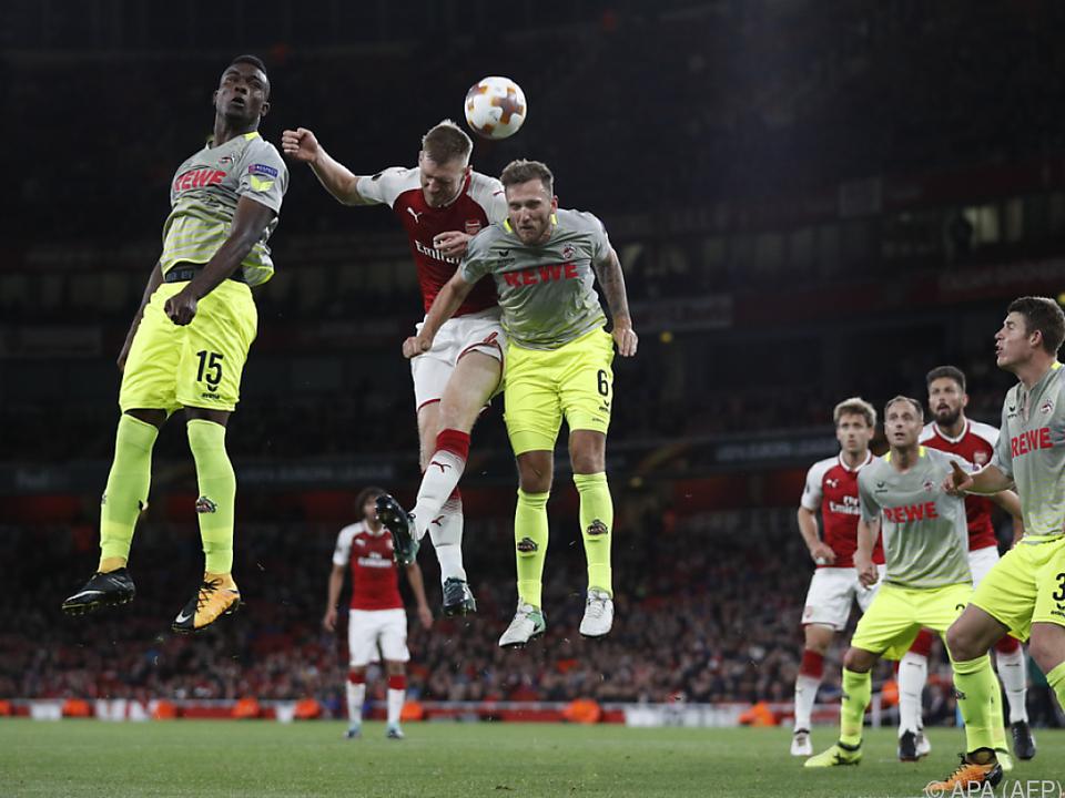 Der Fußball geriet in London ein wenig zur Nebensache
