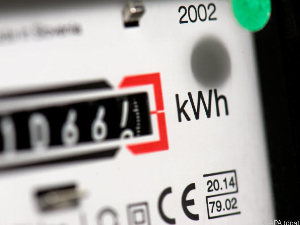 Der gesunkene Strompreis bremste den Anstieg ein wenig