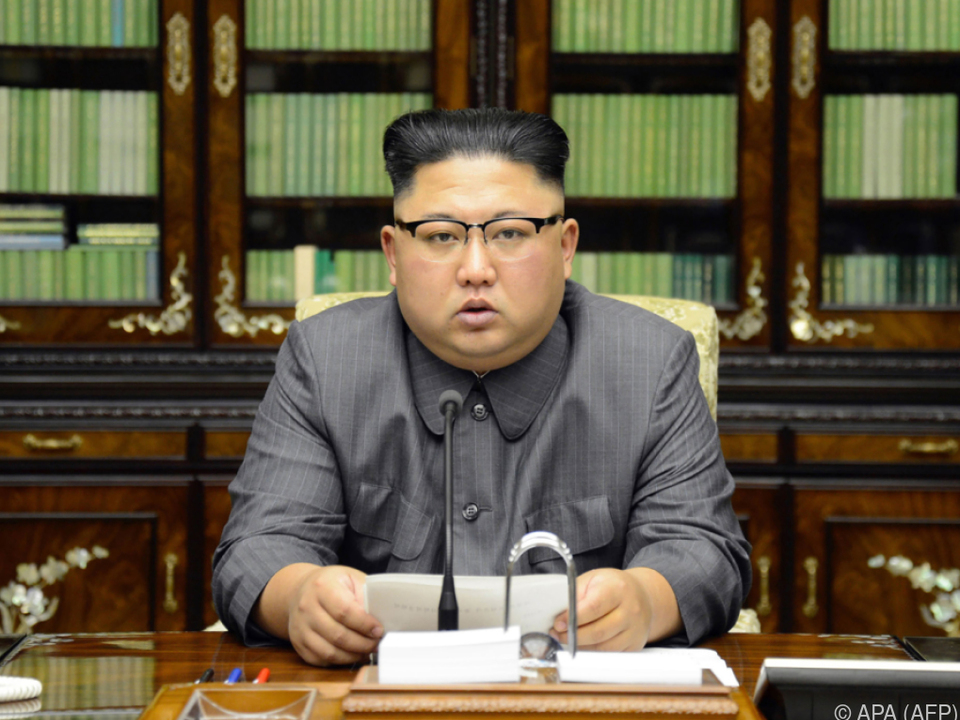 Der nordkoreanische Machthaber nannte Trump \