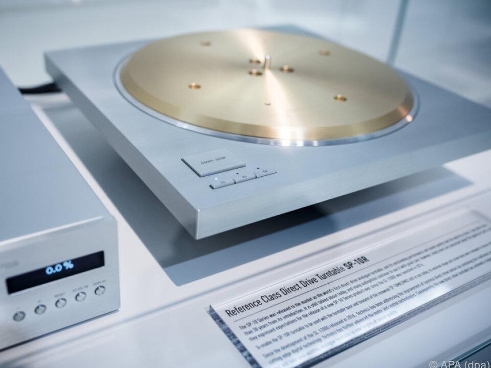 Der SP-10R von Technics ist etwas für Musikfans mit hohen Ansprüchen