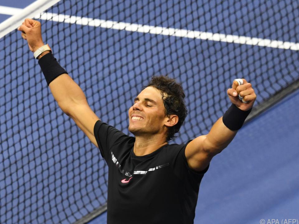 Der Spanier geht als klarer Favorit in sein 23. Grand-Slam-Finale
