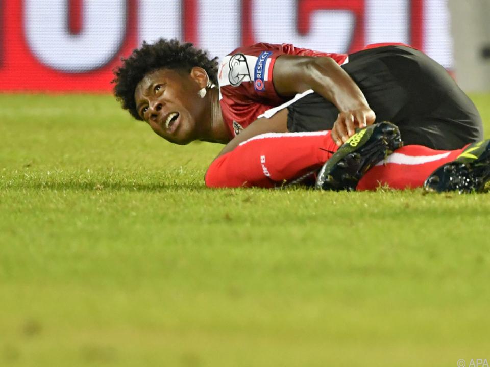 Der Teamspieler zog sich gegen Georgien eine Kapselverletzung zu