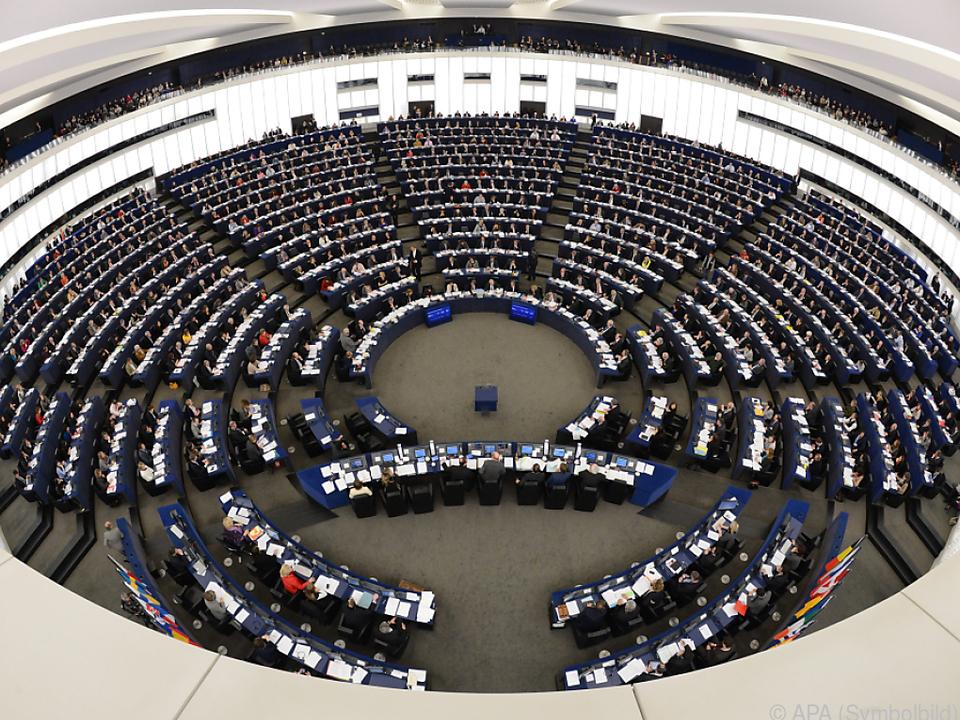 Derzeit sitzen 751 Abgeordnete im EU-Parlament
