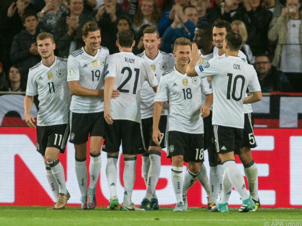 Deutschland fertigte Norwegen 6:0 ab