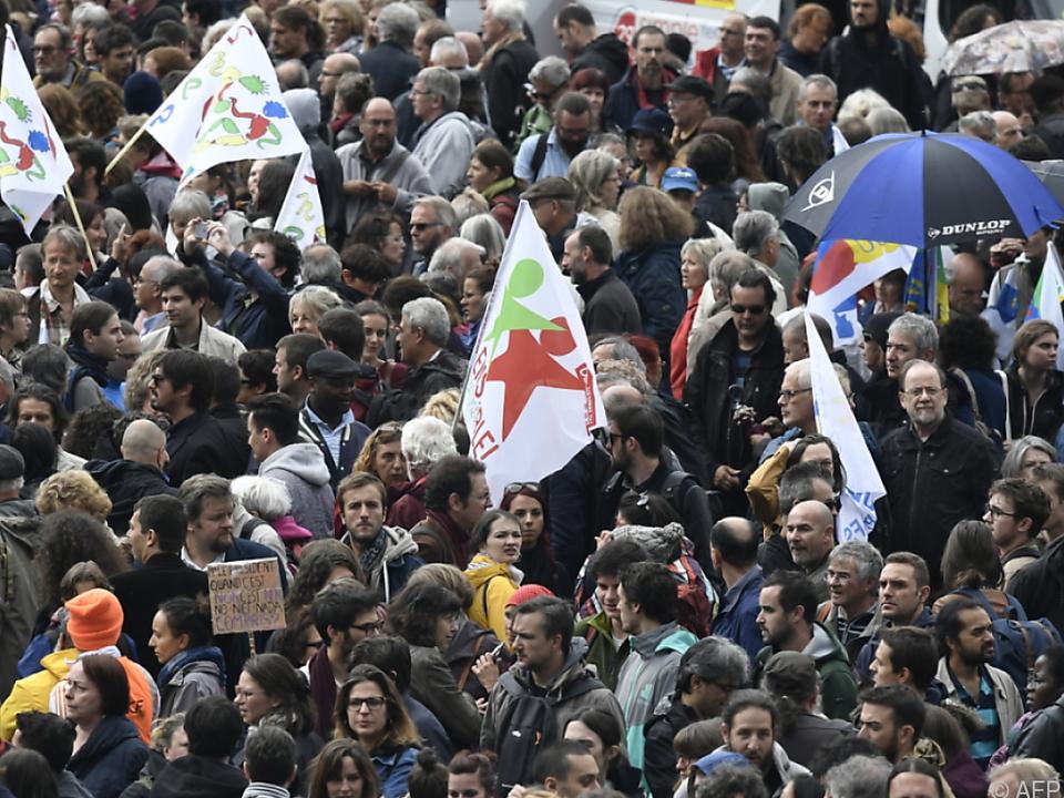 Die Demonstrationen verliefen großteils friedlich ab