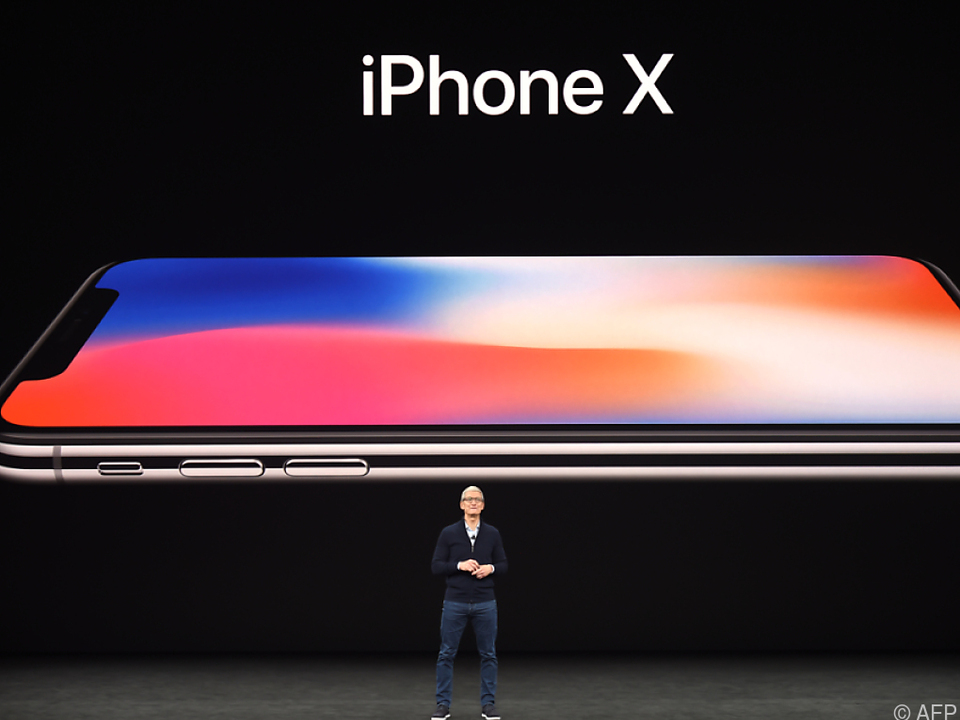 Die Hülle des iPhone X besteht vollständig aus Glas