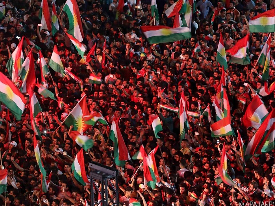 Die irakischen Kurden sollen am Montag abstimmen