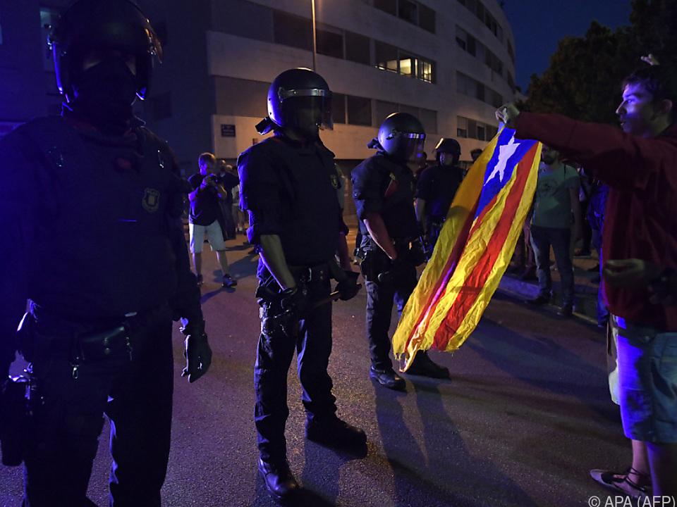 Die Lage in Katalonien spitzt sich zu