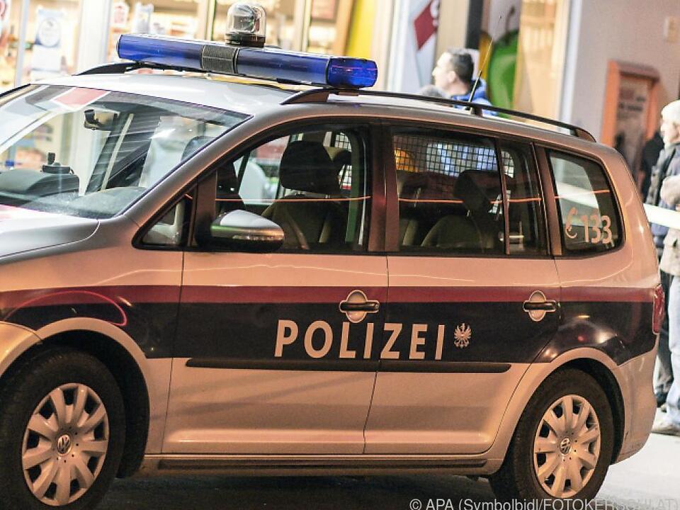 Die Polizei sucht nach dem Täter