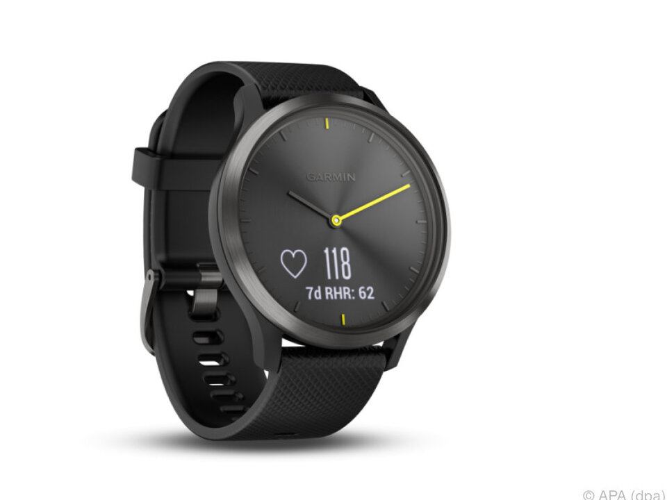Die Vivomove HR verbindet eine analoge Uhr mit einem Fitness-Tracker