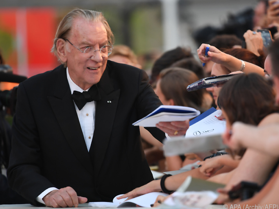 Donald Sutherland bisher ohne Oscar