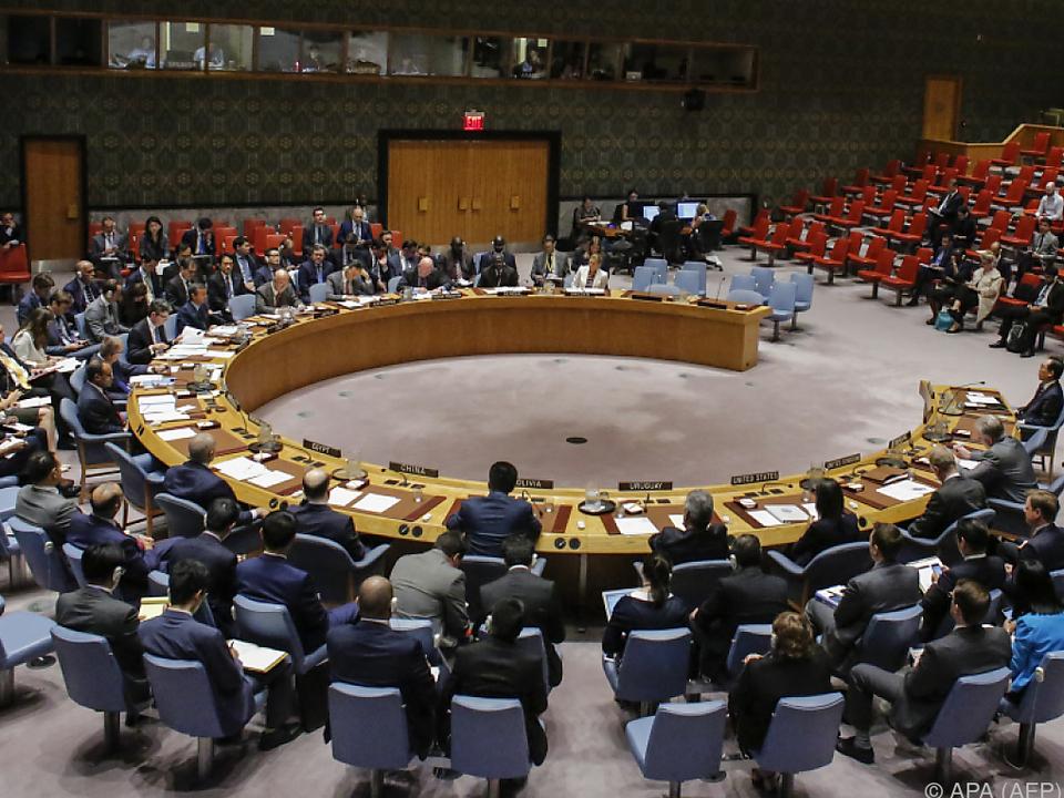 Dringlichkeitssitzung des Weltsicherheitsrates