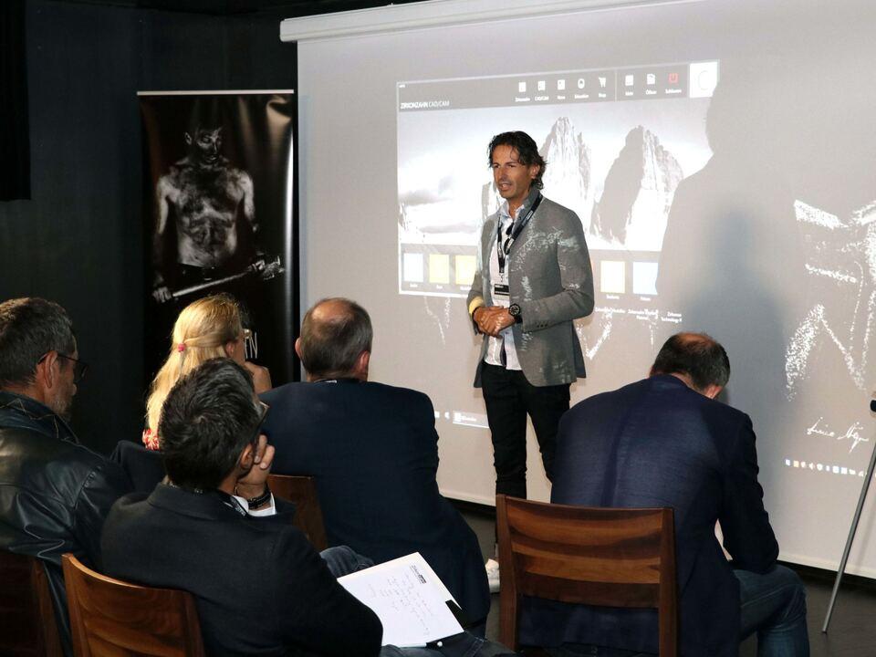 Excellent Companies Gastgeber Enrico Steger (Zirkonzahn) und Christian Höller (Excellent Companies)