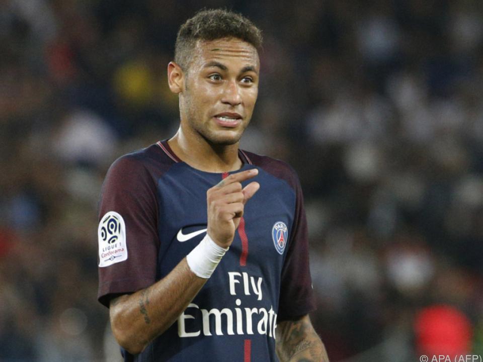 Ein bisschen teuer: PSG-Neuerwerbung Neymar