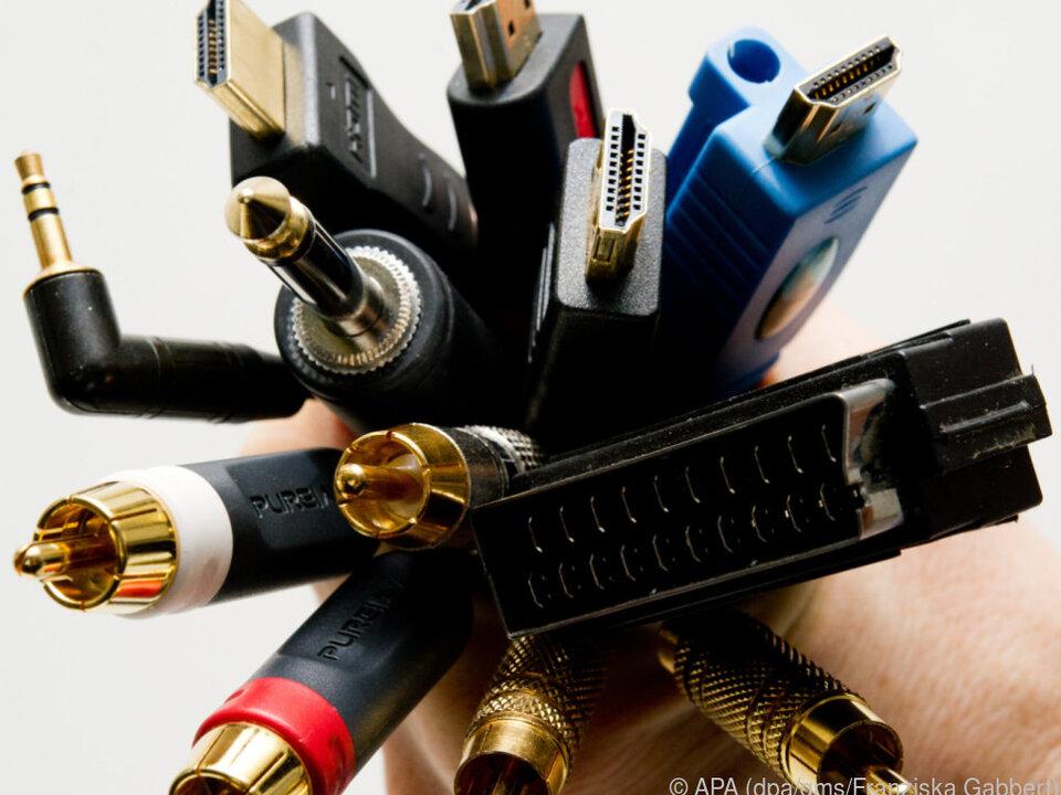 Ein bunter Strauß: Die Vielfalt an Audio- und Videoschnittstellen ist groß
