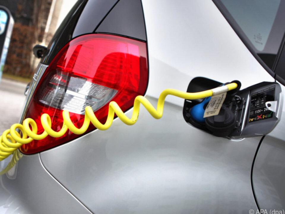 Elektroautos boomen