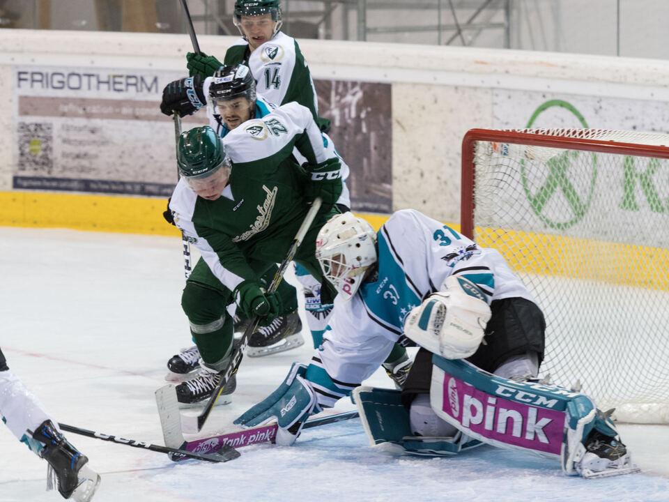 Eishockey, Vinschgau-Cup 2017, EHC Black Wings Linz - Färjestad BK